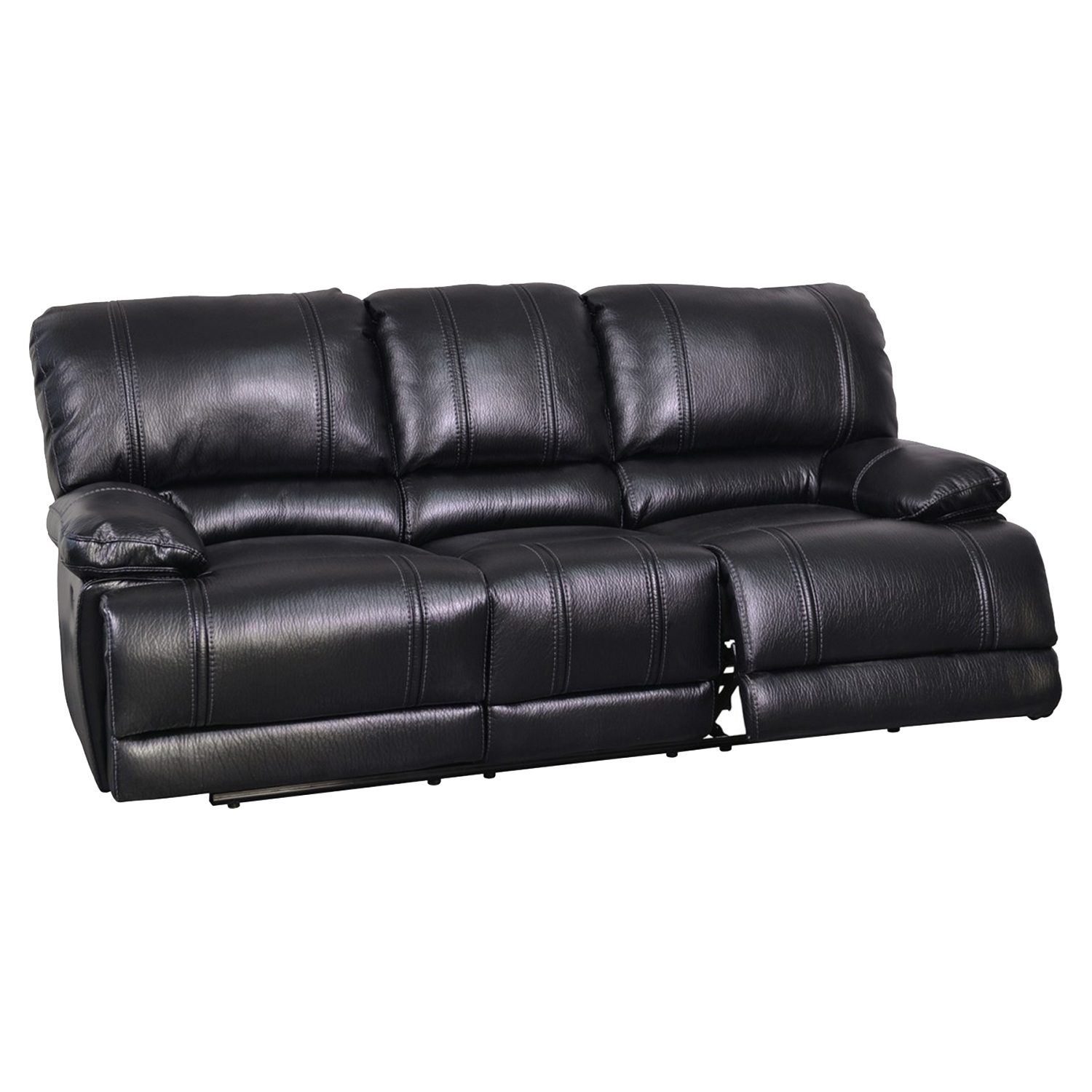 Dalton Reclining Sofa Set in Kelton Black - GLO-U2175-SET