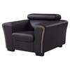 Mikayla Chair with Headrest Function, Chocolate/Dark Cappuccino - GLO-U7190-L6R-CH