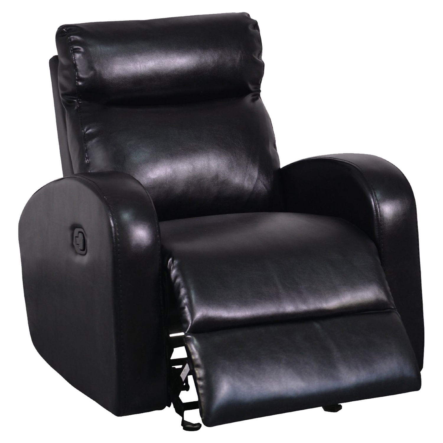 Genesis Glider Recliner Chair in Black