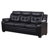 Daniela Bonded Leather Sofa Set in Chocolate - GLO-U880016KD-SET