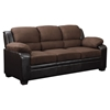 Fernando Sofa Set in Two Tone Brown - GLO-U880018KD-MF-SET
