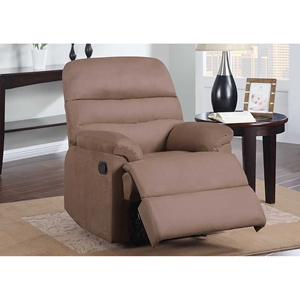 Alexandria Rocker Recliner Chair in Mocha