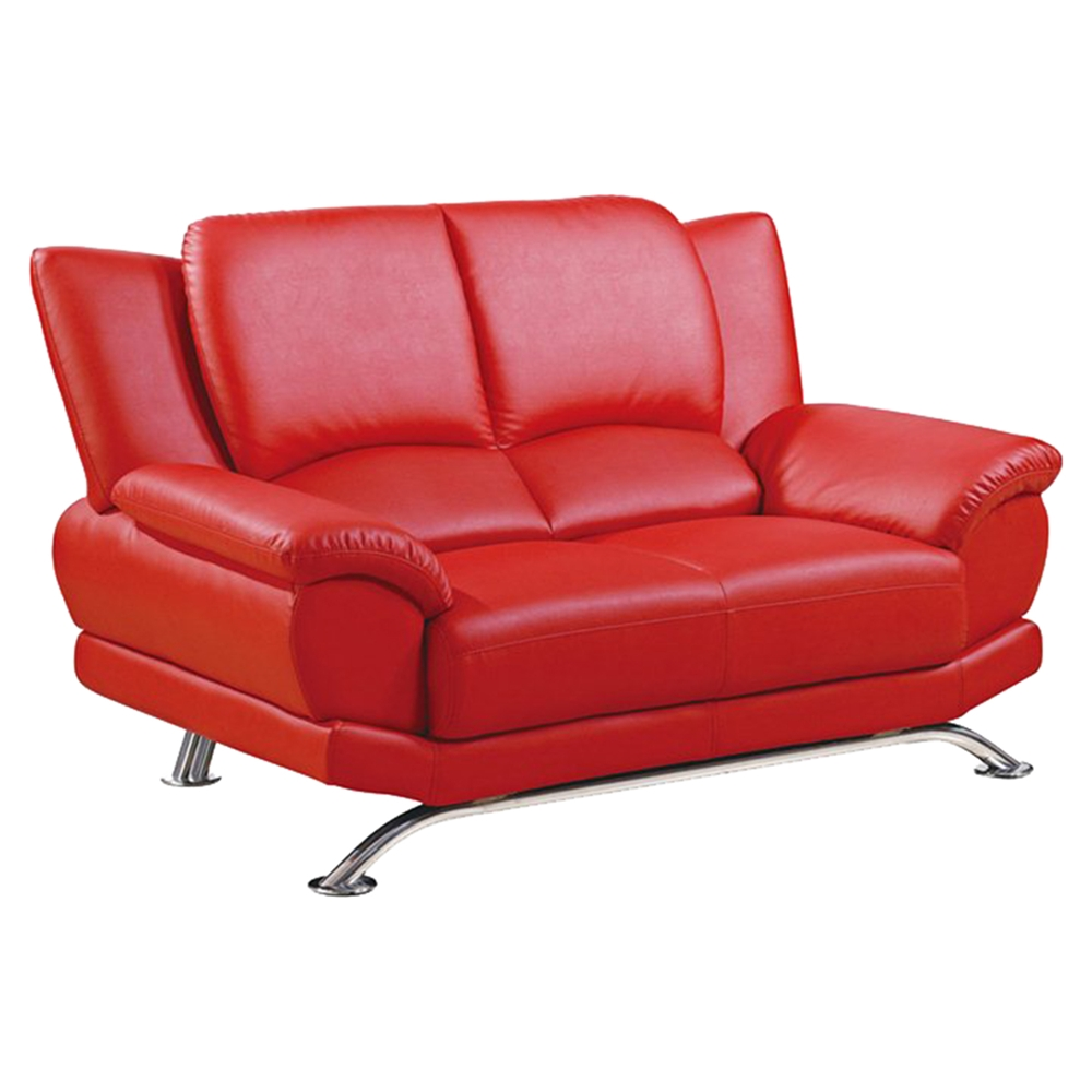 Jesus Loveseat Red Leather Dcg Stores