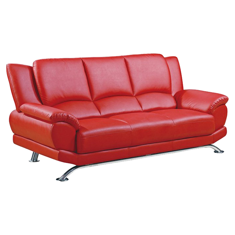 Jesus leather sofa in red dcg stores for V furniture outlet palmdale
