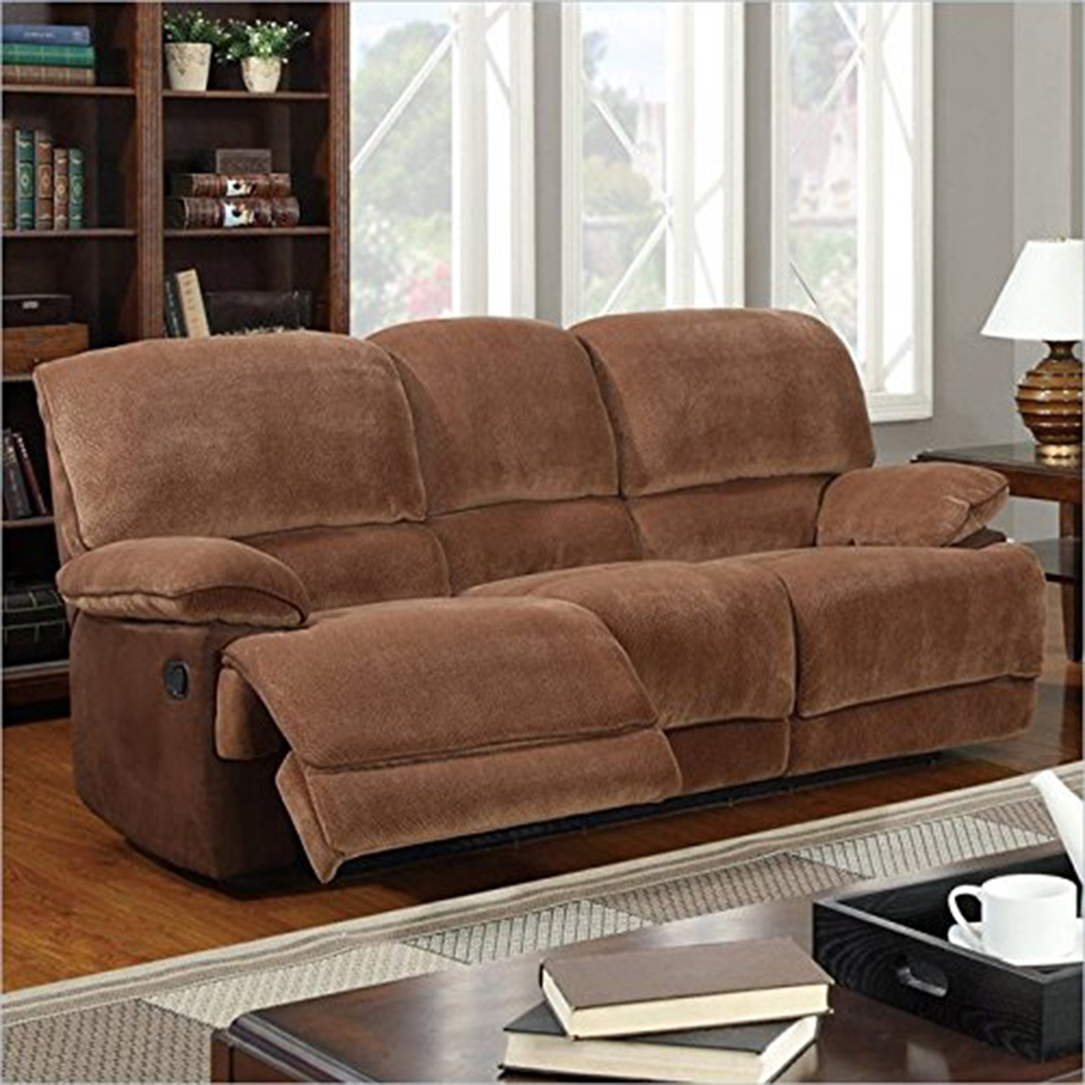 jeremy reclining sofa in brown sugar dcg stores