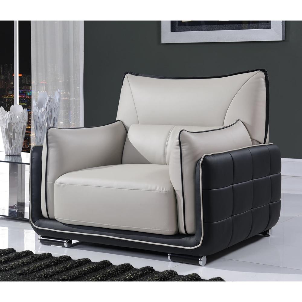 kaden natalie gray natalie black leather sofa set dcg stores. Black Bedroom Furniture Sets. Home Design Ideas