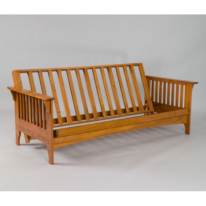 Boston Cherry Oak Futon Frame Gb Aosh