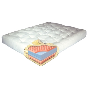 9%27%27 Moonlight King Futon Mattress - Model 914