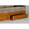 Burlington Cherry Oak Futon Set - GB-AOSU-SET#