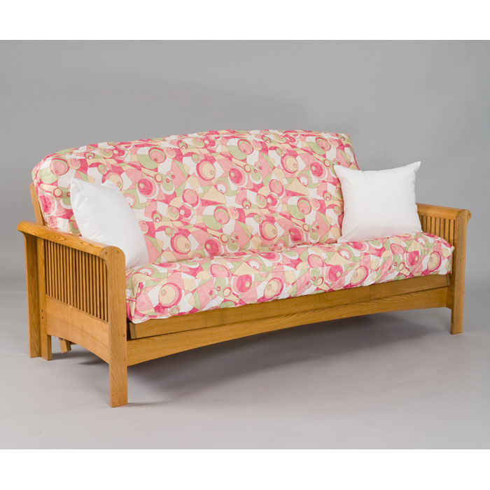 Portland Cherry Oak Futon Set
