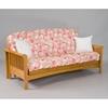 portland cherry oak futon frame gb aofa