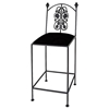"Rose Garden 24"" Wrought Iron Counter Stool - GMC-1024-CS"