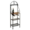 "19"" Gourmet Baker's Rack - Maple Wood Top, 2 Wire Shelves - GMC-19GO"