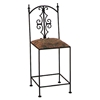 "Gothic Gate 24"" Wrought Iron Counter Stool - GMC-2024-G-CS"