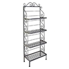 "24"" Regular Wrought Iron Baker's Rack - 4 Wire Shelves - GMC-244R"