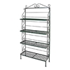 "48"" Regular Wrought Iron Baker's Rack - 4 Wire Shelves - GMC-484R"