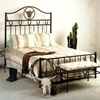 beds chantelle bed wrought iron