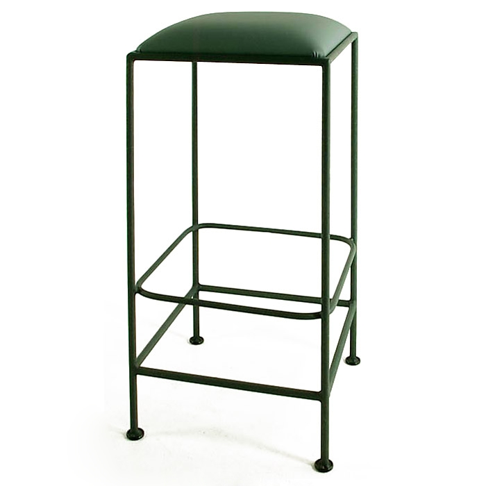 Square 30 Quot Wrought Iron Backless Bar Stool Dcg Stores