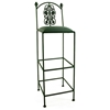 "Rose Garden 36"" Wrought Iron Bar Stool - Extra Tall - GMC-B34-3"