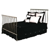 Sleigh Wrought Iron Headboard - Curved Spindles - GMC-B-8000-HB