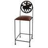 "Frontier 24"" Wrought Iron Counter Stool - GMC-SML-24-FRONTIER"