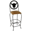 "Frontier 30"" Wrought Iron Bar Stool - Swivel - GMC-SW130-SML-FRONTIER"