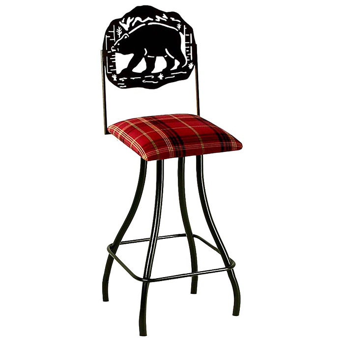 "Great Outdoors 24"" Counter Stool - Memory Return Swivel - GMC-SW224-SML-OUTDOOR"