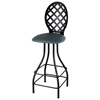 "Lattice Back 30"" Bar Stool - Memory Return Swivel - GMC-SW230-LATTICE"