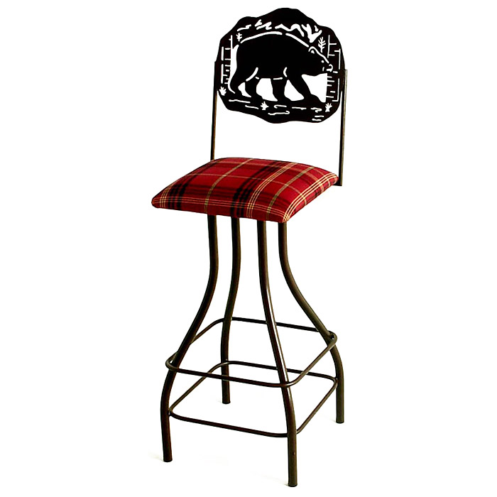 "Great Outdoors 30"" Bar Stool - Memory Return Swivel - GMC-SW230-SML-OUTDOOR"