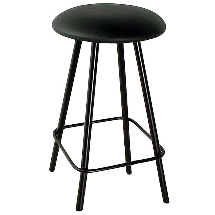 "Round Backless 24"" Counter Stool - Swivel, Straight Legs - GMC-SW324"