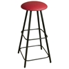 "Round 36"" Backless Bar Stool - Swivel, Straight Legs, Extra Tall - GMC-SW334"