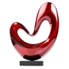 Floating Heart Modern Sculpture