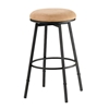 Sanders Adjustable Backless Swivel Bar Stool - HILL-41XX-831