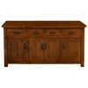 Outback 4-Door Buffet in Distressed Chestnut - HILL-4321-850