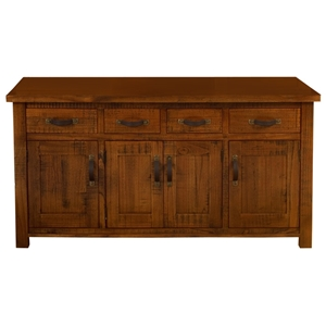 Outback 4-Door Buffet in Distressed Chestnut
