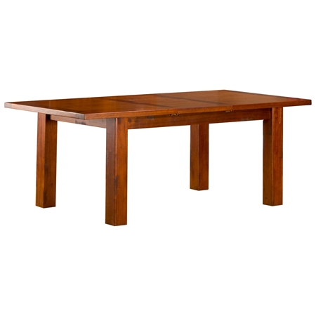Outback Dining Table Extension Leaf Distressed Chestnut DCG Stores