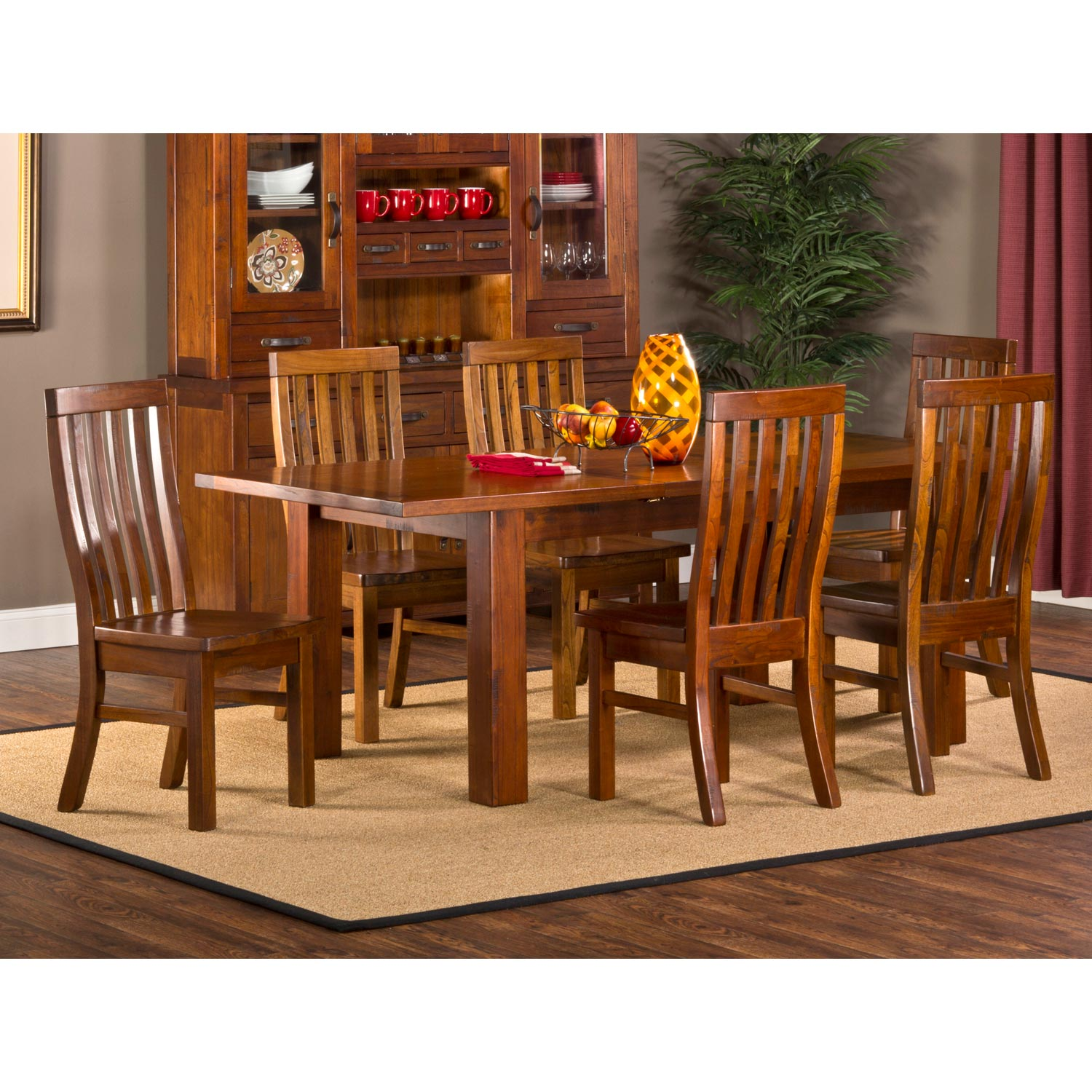 Outback Dining Table Extension Leaf Distressed Chestnut  : 4321dtbec7 from www.dcgstores.com size 1500 x 1500 jpeg 303kB