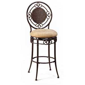 Pleasant Richland Swivel Bar Stool Black Gold Buckskin Seat Unemploymentrelief Wooden Chair Designs For Living Room Unemploymentrelieforg