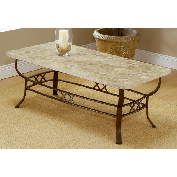 Brookside fossil coffee table dcg stores for Fossil coffee table