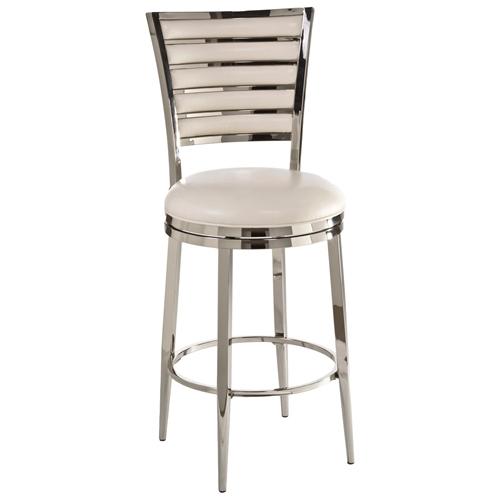 Rouen 26quot Swivel Counter Stool Polished Nickel Finish  : 5319 827 from www.dcgstores.com size 500 x 500 jpeg 46kB