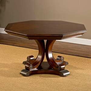Harding Game Table - Reversible Top, Rich Cherry Finish