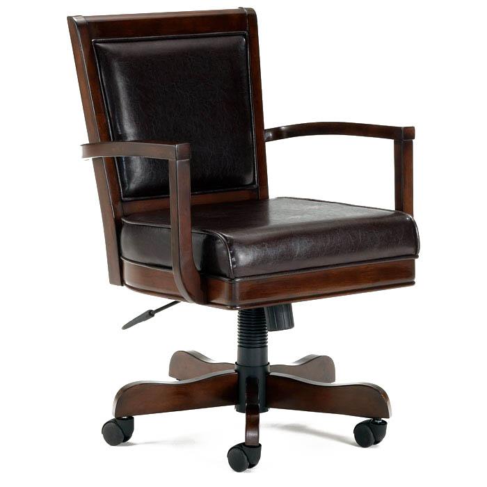 Ambassador Leather Game Chair