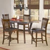 Arbor Hill Non-Swivel Counter Stool in Colonial Chestnut - HILL-4232-822
