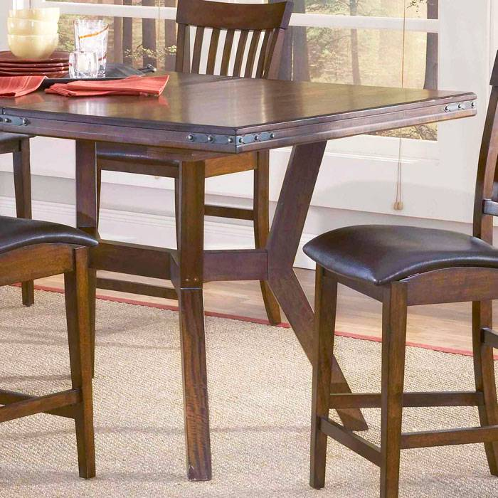 Counter Height Gathering Table With Storage : Arbor Hill Counter Height Extendable Gathering Table DCG Stores