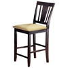 Arcadia Espresso Non-Swivel Counter Stool - HILL-4180-822YM