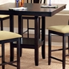 Arcadia Espresso Square Counter Table - HILL-4180-835YM