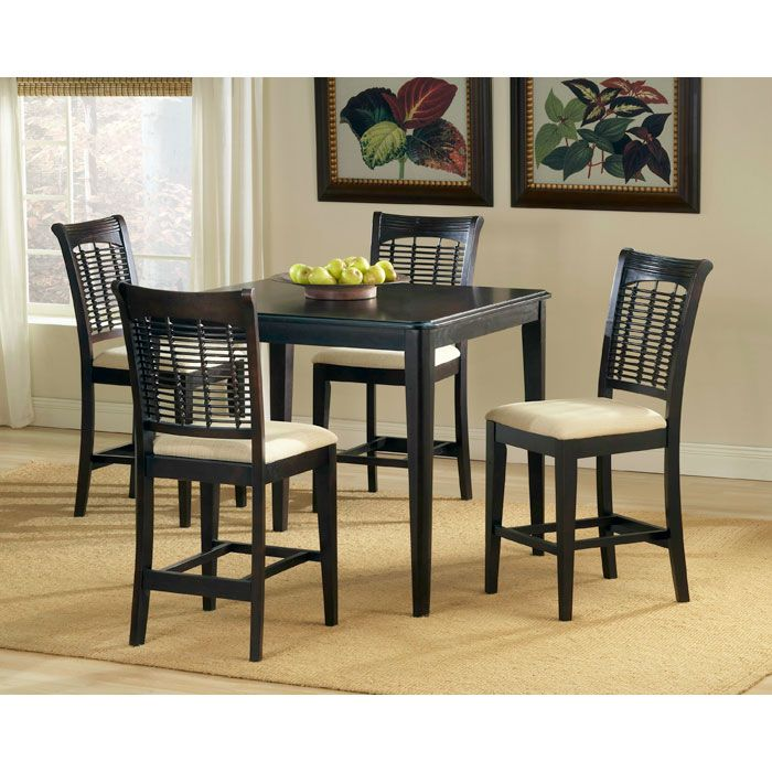Bayberry 5 Piece Square Counter Set - HILL-4783DTBSG