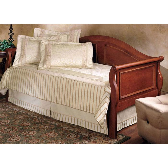Bedford Sleigh Daybed in Cherry - HILL-124DBLH