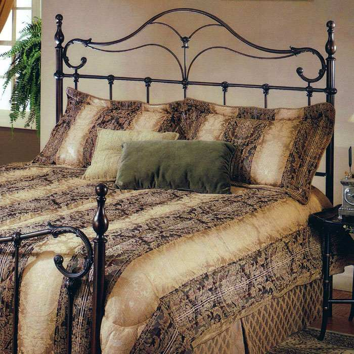 Bennett Headboard in Antique Bronze