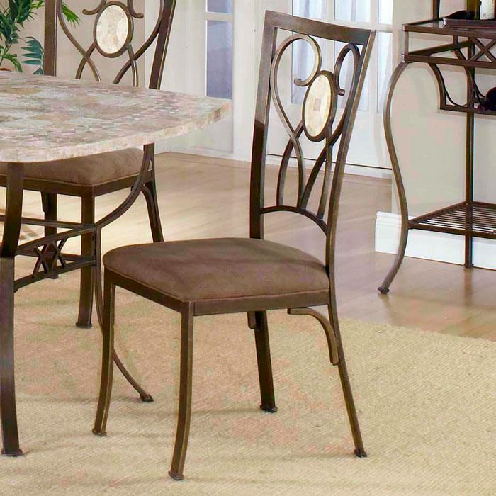 Brookside Oval Fossil Accent Dining Chair